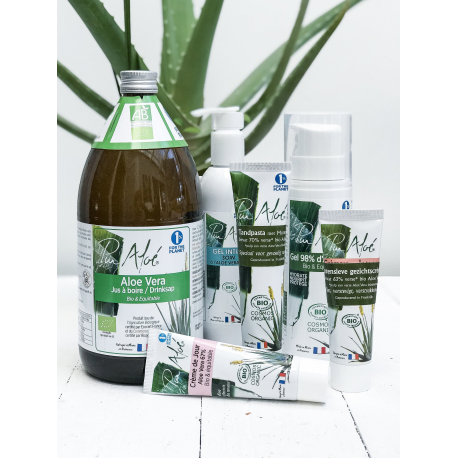 Pur'Aloe - Dagcrème met aloë vera (50 ml) Bio