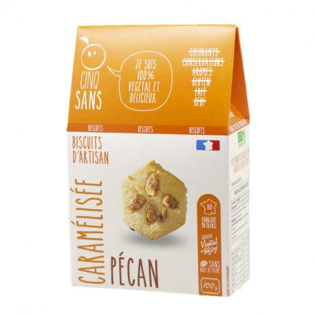 Cinq Sans - Caramelized pecan cookies Organic 100g