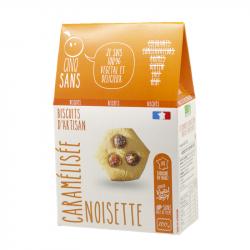 Cinq Sans - Biscuit noisette caramélisée Bio 100g