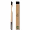 Bamboe tandenborstel Zwart Bio