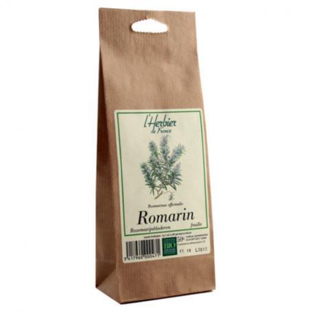 Feuilles de Romarin - Bio - L'herbier de France - 50g