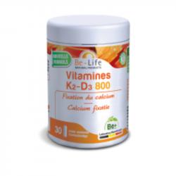 Vitamines K2-D3 800 30 gél. , Be-Life, Compléments alimentaires.