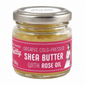 Rose shea butter cold pressed 60g