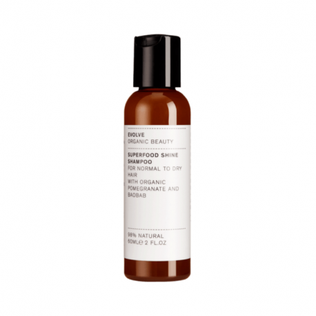 Superfood shampoing 60ml, Evolve, Cheveux