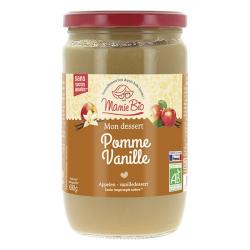 MAMIE BIO - purée pommes - vanille sans sucres ajoutés BI