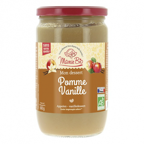MAMIE BIO - appel vanilla purée without added sugars