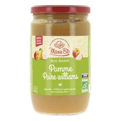 MAMIE BIO - purée pommes - poires William's sans sucres