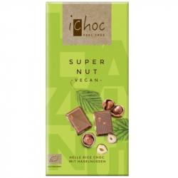 iChoc - Chocolat Vegan 'Supernuts' Bio 80g