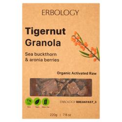 Erbology - Granola Noix Tigrées & Argousier Bio 220g