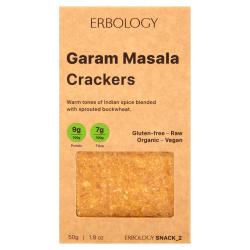 Erbology - Crackers Garam Masala 50g