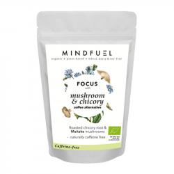 Mindfuel - Cafeïnevrije Alternatief voor Koffie met Cichorei en Paddenstoelen 'Focus' 32g