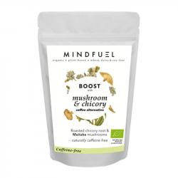 Mindfuel - Cafeïnevrije Alternatief voor Koffie met Cichorei en Paddenstoelen 'Boost' 32g