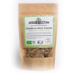 Resurrection - Crackers aux Drêches de Brasserie - Petit Epeautre & Graines de Fenouil 100g