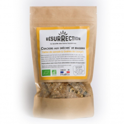 Resurrection - Brewer's Grain Crackers - Buckwheat & Squash Seeds 100g