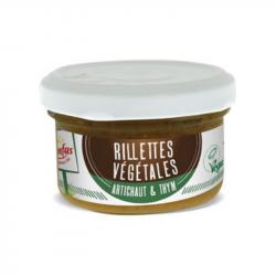 Senfas - Rillettes Végétales Artichaut & Thym Bio 90g