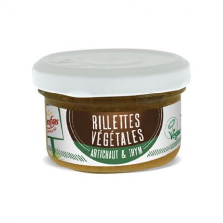 Senfas - Organic Artichoke & Thyme Plant-Based Rillettes 90g