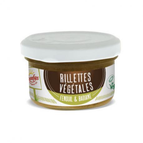 Senfas - Rillettes Végétales Fenouil & Badiane Bio 90g