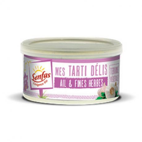 Senfas - Organic Garlic & Herbs Plant-Based Spread 125g