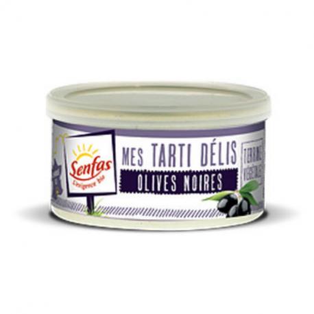 Senfas - Organic Black Olives Plant-Based Spread 125g