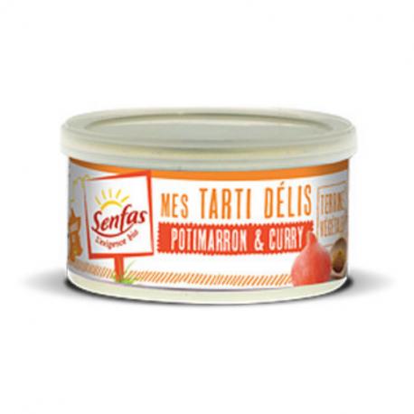 Senfas - Organic Pumpkin Curry Plant-Based Spread 125g