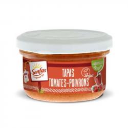 Senfas - Tapas van Gedroogde Tomaten en Paprika Bio 90g