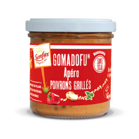 Senfas - Organic Grilled Peppers Gomadofu 140g