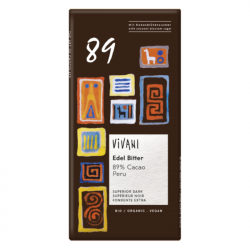 Vivani - Chocolat Noir Supérieur 89% Bio 80g
