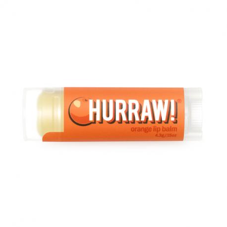HURRAW! - Baume à Lèvres Orange 4,3g