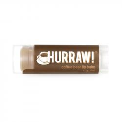 HURRAW! - Baume à Lèvres Grains de Café 4,3g