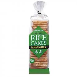 Clearspring - Rice Cake Tamari & Garlic ORGANIC 150g