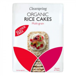Clearspring - Galettes de Riz Multi Cereales BIO 130g