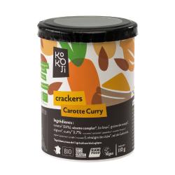 Kokoji - Crackers Carotte Curry SANS GLUTEN 80g