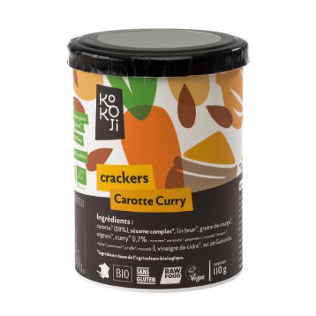 Kokoji - Carrot Curry Crackers GLUTEN FREE 80g