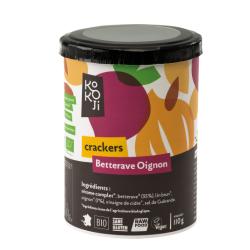Kokoji - Crackers Betterave Oignon SANS GLUTEN 80g