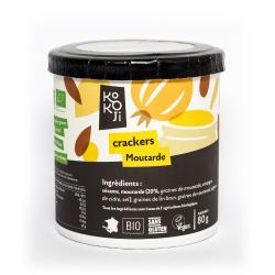 Kokoji - Mustard Crackers GLUTEN FREE 80g