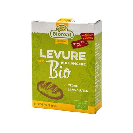 Bioreal - Levure Seche Sans Gluten 5x9 Gr