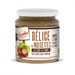 Senfas - Organic Hazelnut Puree 300g
