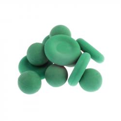 WAB - Boite de 6 Balles de Lavage + 4 Battoirs