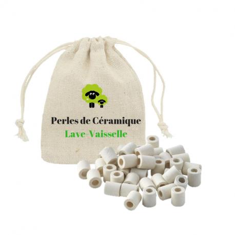 Les Verts Moutons - ceramic beads for dishwasher 30x