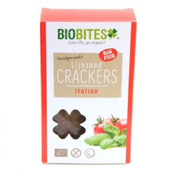 Biobites - Crackers Italiens aux Graines de Lin BIO 4pcs
