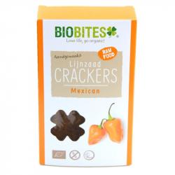 Biobites - Crackers mexicains aux Graines de Lin BIO 4pcs