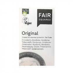 Fair Squared - Original, 3 préservatifs