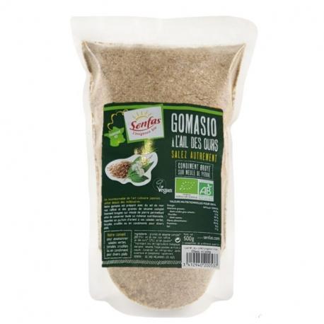 Senfas - Organic Wild Garlic Gomasio 500g