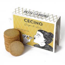 Basta Sia Buono - Scatolina Cecino Ginger / Lime 60gr