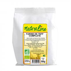 Naturaline - FARINE de Teff Bio 500g