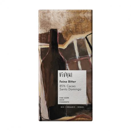 Vivani - Zwarte Chocolade 85% Organisch 10x100g