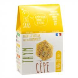 Cinq Sans - Organic Appetizer Ceps & Thyme 100g