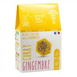 Cinq Sans - Gingembre & Curry Koekjes Bio 100g