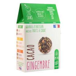 Cinq Sans - Granola cacao gingembre Bio 300g
