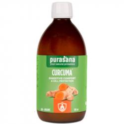 Purasana - Curcuma Liquide Confort Digestif BIO 500ml